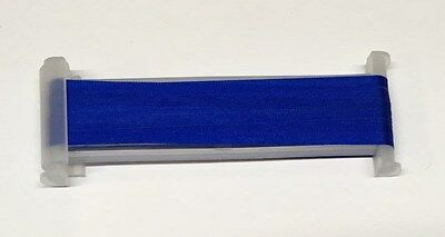 YLI Silk Ribbon 4mm x 3m - Shade 099 - Bright Royal Blue