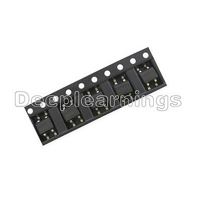 100Pcs IC MB6S 0.5A 600V Miniature Mini SMD Bridge Rectifier