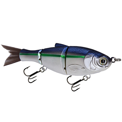 "KDS Custom Slow Sinking Jointed 5"" Multi Section Swimbait - Citrus Shad"