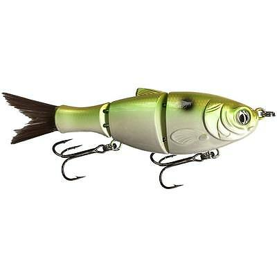 "KDS Custom Slow Sinking Jointed 5"" Multi Section Swimbait - Copper Green Shad"