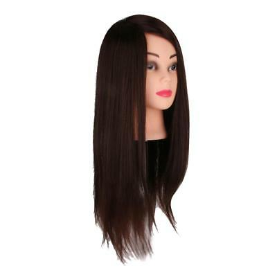 41CM Hair Head Mannequin Salon pratica Modello di parrucchiere Makeup Bridal