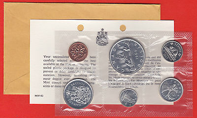 - Pl Set 1983 With COA and Envelope Canada RCM Proof Like Mint