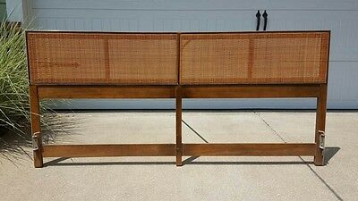 Paul McCobb Irwin Collection for Calvin Furniture King Headboard: Mid Century