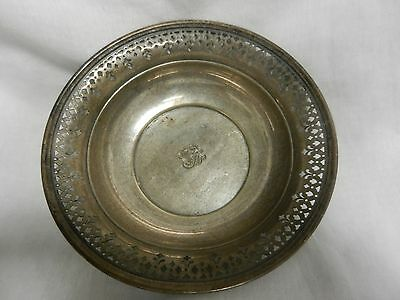 Vintage Tiffany & Co Sterling Silver Reticulated Candy/Nut Bowl 20675K 1926