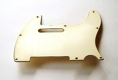 Aged 60ties Pickguard Parchment 3 Ply fits to Tele ®