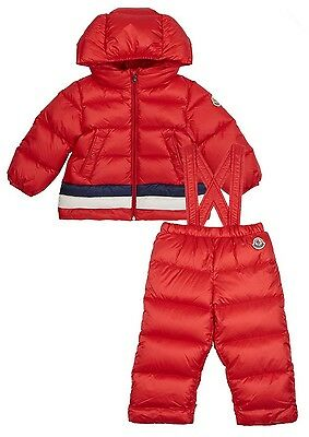 Moncler Baby Azel Down Padded Jacket And Pants Coat Snowsuit 18-24 Months