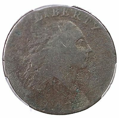 1793 S-1 R-4 PCGS G 04 AMERI. Chain Large Cent Coin 1c