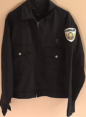 Caterpillar Tractor Vintage Obsolete Security Jacket