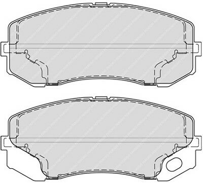 FCP725H Race  Brake Pad Set Ferodo Front Competition DS2500 Track