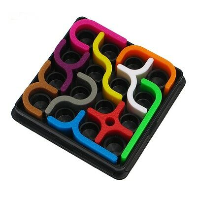 Puzzle Crazy Curves Maze Game Educational Brain Teasers Kids Toys Gift QP