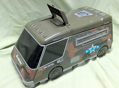 Micro Machines MILITARY SUPER VAN CITY Galoob 1991 Foldout Play Set Carry Case