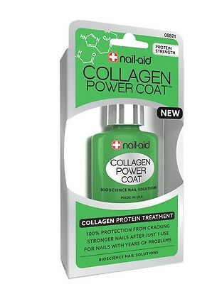 Nail-Aid Almost Gel Stronger Nails Collagen Nail Builder 15ml