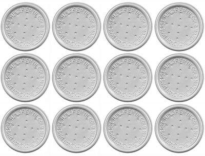 12 Pack Pipe Tobacco Cigar Humidity Humidor Moistener Button Disc Pod 1044-12