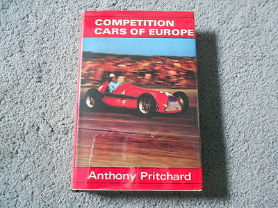 1970 COMPETITION CARS OF EUROPE by PRITCHARD HCDJ AUTO RACING HISTORY PHOTOS