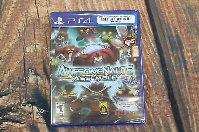 NEW Awesomenauts Assemble Game - PlayStation 4 - PS4 - BRAND NEW Sealed
