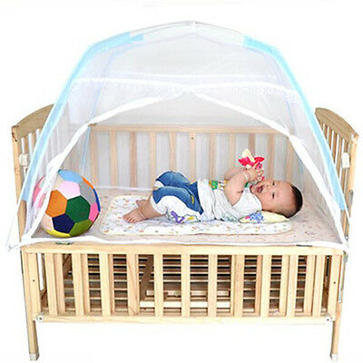 Bed Mosquito Baby Net Folding Crib Portable Infant Tent Travel Canopy Netting