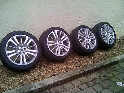 Genuine Range Rover Sport 20'' Alloy Wheels And Tyres