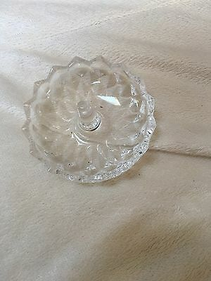 Antique Glass Ring Dish