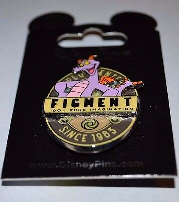 Disney Figment 100% Pure Imagination Pin New On Card