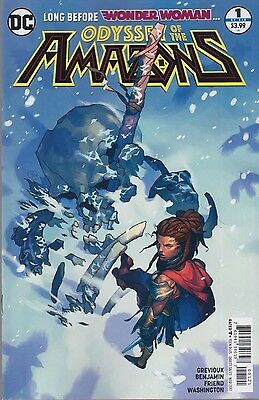 ODYSSEY OF THE AMAZONS #1 (2017) VARIANT EDITION 1st Print NM