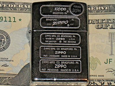 New 5 ZIPPO different Logos on Lighter HP Chrome Windproof US Lifetime Guarantee