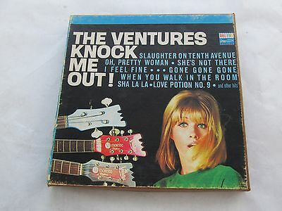 The Ventures Knock Me Out 4 track Reel To Reel 7 1/2 IPS LT 8033