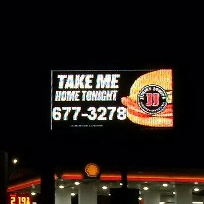 Watchfire Digital Sign Double Sided 5x10ft