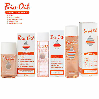 Bio Oil  for Scars Stretch Marks Dehydrated Ageing Skin 60m/125ml/200ml Free P&P