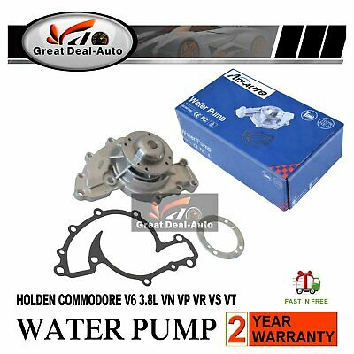 Genuine Machter Water Pump for Holden Commodore V6 3.8L VN VP VR VS VT VX VY Ute