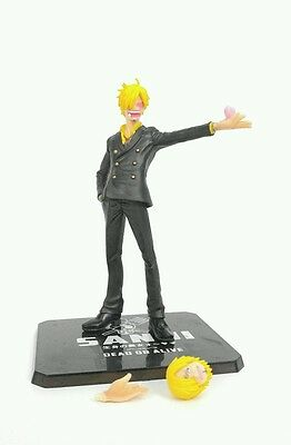 "2011 Bandai One Piece Dead Or Alive Sanji 6"" PVC Figure Anime"
