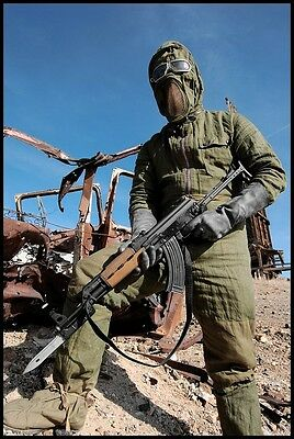 Genuine USSR Soviet Russian Radiation Shielding Suit USSR NBC Costume Halloween