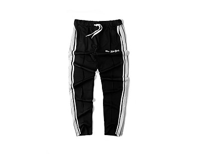Street Hip hop BBOY Retro Solid Sports Skateboard Jogging Casual Pants Unisex
