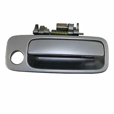 SILVER Front Right Passenger Exterior Outside Door Handle for 97-01 Toyota Camry