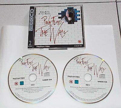 Video Cd PINK FLOYD THE WALL 2 Cd Polygram Video 1994 PERFETTO VCD videocd Pc