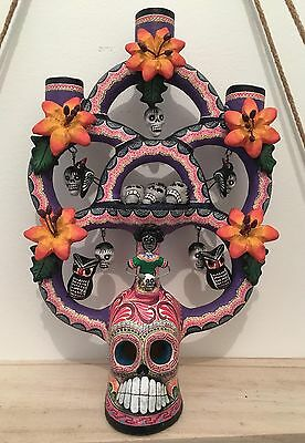 Day of the Dead Candleholder