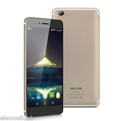 "32GB 4GB 5.5"" Vernee Mars 4G Android 6.0 Smartphone Octa Core A-GPS Cellulare EU"