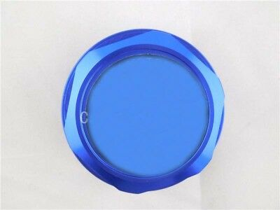 Fashion  Blue TRD  Oil Filler Cap Fuel Tank Cover Aluminum For Most Toyota Cars