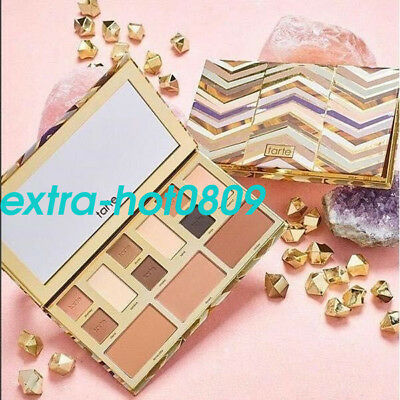 2017 Brand Tarte Clay Play Face Shaping Eye Shadow Palette Waterproof Makeup Gif