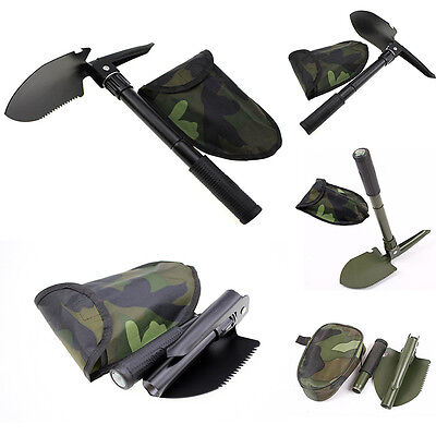 Multifunctional Shovel Foldable Outdoor Camping Mini Survival Tools Garden Spade