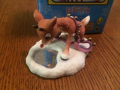 """Enesco Rudolph and the Island of Misfit Toys figurine """"Let Your light Shine"""" 557"""