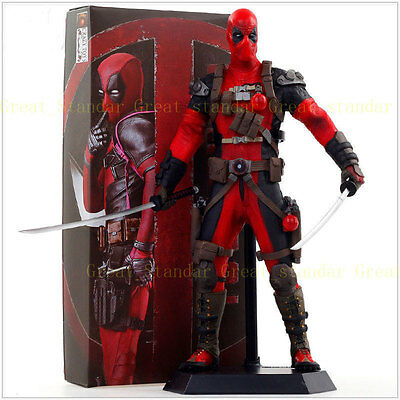 "Crazy Toys 1/6 12"" 30cm Marvel X-men Deadpool Wade Wilson Doll Action Figure"