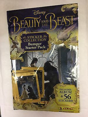 Panini Beauty And The Beast Enchanted Bumper Sticker Album Free 56 Stickers
