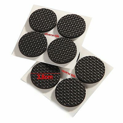 38Mm Furniture Pads Self-Adhesive Non-Slip Rubber Feet Uk