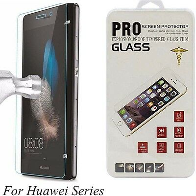 2Pcs 9H Tempered Glass Film Screen Protector For Huawei P8 P9 Lite P10 Plus 2017