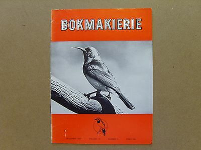Bokmakierie Magazine - December 1967 - South African Ornithological Society