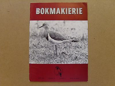 Bokmakierie Magazine - June 1968 - South African Ornithological Society