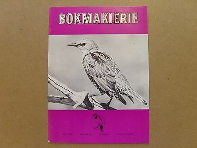 Bokmakierie Magazine - December 1968 - South African Ornithological Society