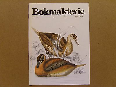 Bokmakierie Magazine - March 1977 - South African Ornithological Society