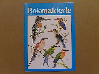 Bokmakierie Magazine - September 1977 - South African Ornithological Society