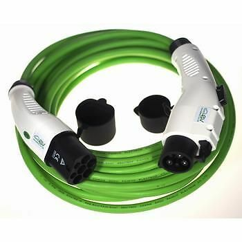 EV Fast Charging Cable Type 1 to Type 2 Connection 16Amp/32Amp